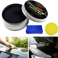 Car Wax Crystal Plating Set Hard Glossy Carnauba Wax Paint Care Coating New