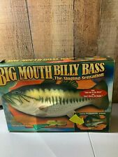 Big Mouth Billy Bass Singing Sensation Motion Activated Take me to River w/box