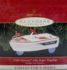 HALLMARK KEEPSAKE ORNAMENT~1968 MURRAY JOLLY ROGER FLAGSHIP~KIDDIE CAR CLASSICS