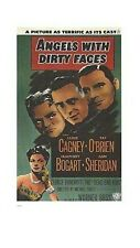 ANGELS WITH DIRTY FACES MOVIE POSTER ~ TERRIFIC 26x38 Humphrey Bogart Cagney