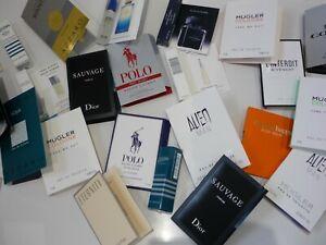 x5 Mens Designer Fragrance Aftershave Samples NEW