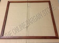 "Pottery Barn Teen Style Tile Push Pin corkboard wood FRAME Molding 48"" Espresso"