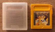 Pokémon Amarillo Nintendo Game Boy PAL España