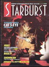 STARBURST # 84 SCI-FI MAGAZINE HORROR STEPHEN KING CAT'S EYE RUN-AWAY SELLECK