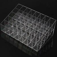 Clear Acrylic 40 Lipstick Holder Display Box Cosmetic Makeup Case Organizer  H