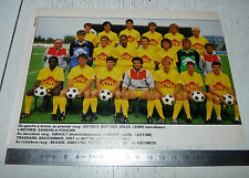 CLIPPING POSTER FOOTBALL 1987-1988 US ORLEANS