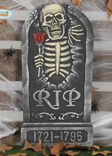Halloween Party Prop Skeleton RIP Tombstone