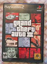 Play Station 2 PS2 Grand Theft Auto III (Box and game, no manual) #2