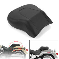 Motorcycle Rear Passenger Seat Pillion Pad For Harley Fatboy FLSTF 2008-2014 #K