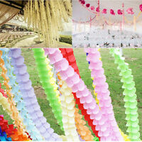 3M Four Leaf Clover Paper Garlands Party Wedding Home Decoration Beautiful Sale