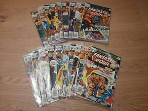 Fantastic Four Vol. 1 :  181 - 199 (1961), average  FN/VFN, US Originale