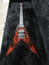 B.C. Rich Handcrafted HKKV25AG1 25th Anniversary Kerry King V-Tribe Electric
