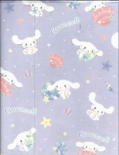 Sanrio Cinnamoroll Folder Portfolio Side Open Plastic Purple