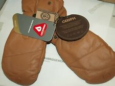 Cooph ULTIMATE Leather Photo Glove NEW LIGHT BROWN PAIR