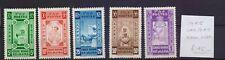 ! Ethiopia 1945.  No Overload Stamp. YT#240/244. €45.00 !