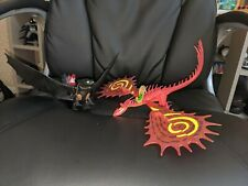 Hookfang and toothless Dragon Action Figure How To Train Your Dragon Toys
