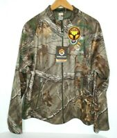 NEW Scentlock Realtree Xtra Early Season Camo Men's Med. Lt.weight Zip-Up Jacket