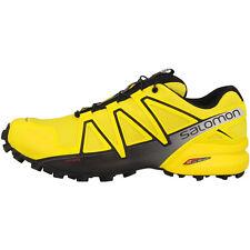 Salomon Speedcross 4 Men Herren Trail Schuhe Laufschuhe yellow black 392400