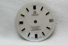 Mother Of Pearl Omega Constellation Co-Axial Chronometer Dial NOS  25.4mm Silver