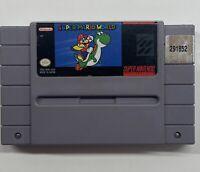 Super Mario World (Super Nintendo, 1991) SNES Authentic!