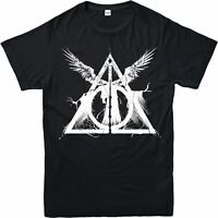 Harry Potter T-Shirt, Deathly Hallows Three Brothers Tale Adult & Kids Tee Top