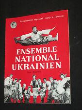 Program Ensemble National Ukrainian Ukraine 1966? Dance Folklore