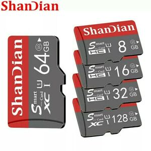 32GB-128GB Class 10 High Speed Micro SD TF SDXC Memory Card for Mobile Tablet PC