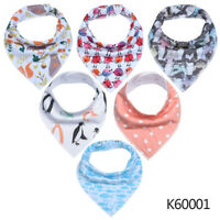100/% Oeko-Tex Bandana drool bibs in 4-pack boys design by Felix /& Sienna!