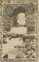 FRANKREICH 1918, Allegorie Typ Blanc 1 C (2 x), extrem selt. MeF a. AK n. INDIEN