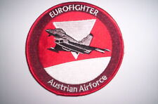 Patch/patch Austrian Air Force Eurofighter ca 10cm