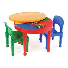 Lego 2 in 1 Activity Table For Children Kids Toddler Furniture Toy New
