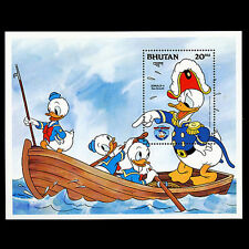Bhutan, Sc #470, MNH, 1984, S/S, Disney, Sea Scouts, DI048F