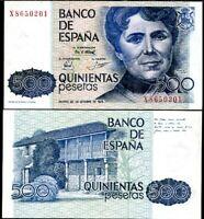 Spain 500 Pesetas 1979 P 157 UNC