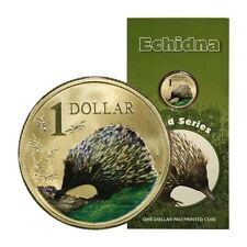 Australia Land Series Echidna $1 2008 BU Display Card
