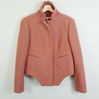 [ CARVEN ] Womens Wool Military Asymmetrical Jacket | Size 38 or AU 10 / US 6