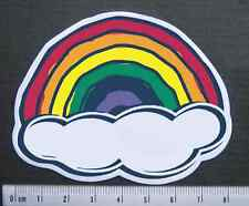 Cute Rainbow Sticker Skateboard Guitar Bike Car Vinyl Laptop Bike Decal Colorful