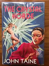 The Crystal Horde, by John Taine - 1952 - 1st Ed., 1st Ptg. Vtg. Hardcover Book