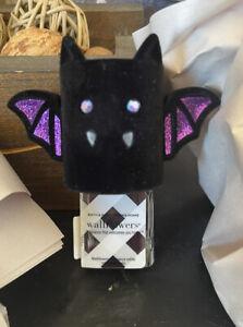 Bath & Body Works VELVET BAT Wallflower Plug-In Diffuser~2021 Halloween Cute!