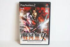 Sengoku Musou PlayStation 2 PS PS2 Good Japan Import US Seller