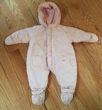 Lili Gaufrette Baby Kids Winter Snowsuit Fleece. With Detachable Booties.