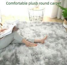 Fluffy Winter Rug Carpets Plush Faux Fur Modern Mats Bedroom Living Room Deco