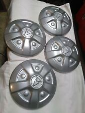 VINTAGE PAINTED TOYOTA TRUCK LAND CRUISER HI-LUX POVERTY CENTER HUB CAPS 1970's