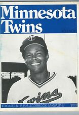 1977 Toronto Blue Jays Game Program vs Minnesota Twins