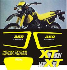 YAMAHA XT350 XT 350 stickers decals aufkleber autocollant high quality