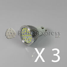 3 x Bulb 24 LED SMD 5050 GU10 White Cold 220V Low Consumption! Equiv. 50W pure