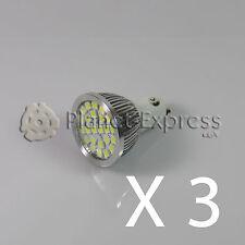3x Glühbirne 24 LED SMD 5050 GU10 Weiß Kalt 220V Unter Verbrauch! Gleichwertig