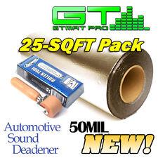 Dynamat Roller & 25 SQFT Car Sound Deadener GTmat Pro 50mil Deadening Material