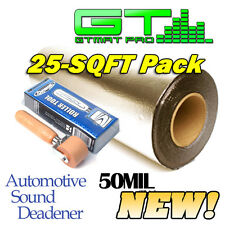 GTmat Pro 50mil 25sqft Car Sound Deadener Automotive Dampener w/ Dynamat Roller