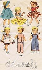 "4509 Vintage Chubby Doll Pattern - Size 18"" - Korean War Year 1953"