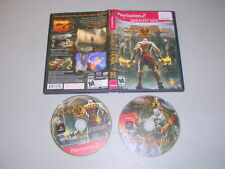 GOD OF WAR II 2  (Playstation 2 PS2) Game & Case GH